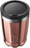 Chilly's Chrome Rose Gold Coffee Cup | Reusable Coffee Cups
