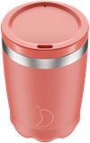 Chilly's Pastel Coral Coffee Cup | Reusable Coffee Cups