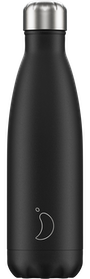 Chilly's Bottles Monochrome Black | Reusable Water Bottles