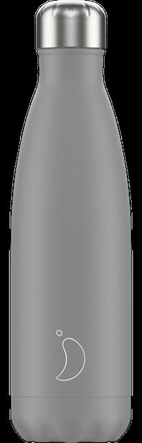 Chilly's Bottles Monochrome Grey | Reusable Water Bottles