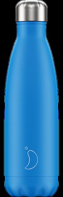 Neon Blue Chilly's Bottle | Reusable Water Bottles