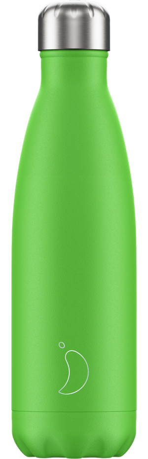 Chilly's Bottles Neon Green | Reusable Water Bottles