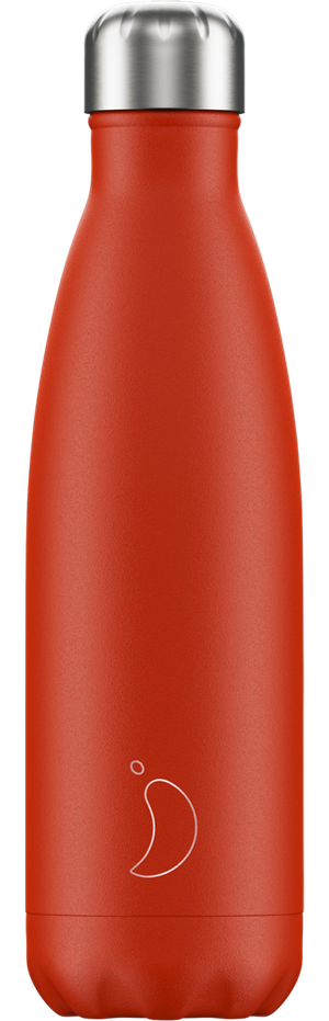 Chilly's Bottles Neon Red | Reusable Water Bottles