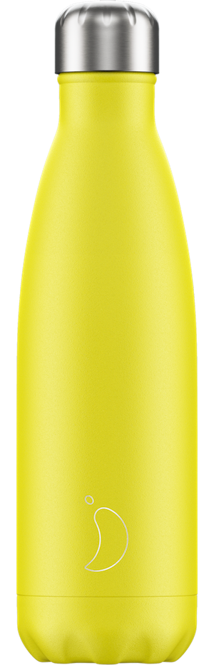 Neon Yellow Chilly's Bottle | Reusable Water Bottles