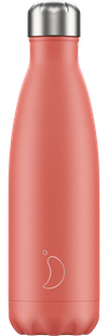 Chilly's Bottles Pastel Coral | Reusable Water Bottles