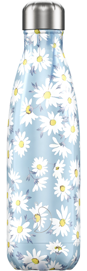 Chilly's Bottles Floral Daisy | Reusable Water Bottles