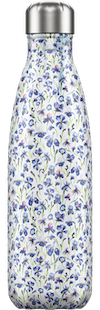 Chilly's Bottles Floral Iris | Reusable Water Bottles