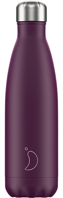 Chilly's Bottles Matte Purple | Reusable Water Bottles