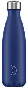 500ml Matte Blue Chilly's Bottle | Reusable Water Bottles