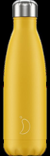 Chilly's Bottles Matte Yellow | Reusable Water Bottles