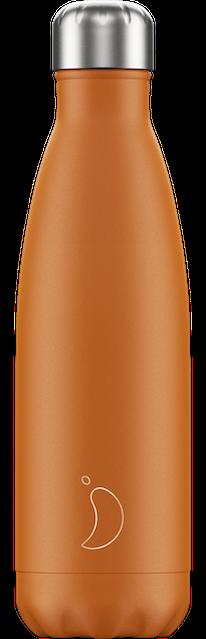 Chilly's Bottles Matte Orange | Reusable Water Bottles