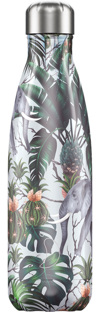 Chilly's Bottles Tropical Elephant | Reusable Water Bottles