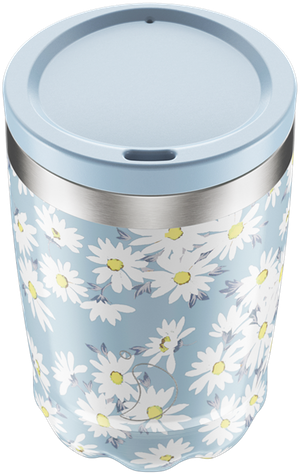 Chilly's Floral Daisy Coffee Cup | Reusable Coffee Cups