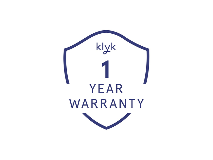 Step 3:  One year warranty ✅