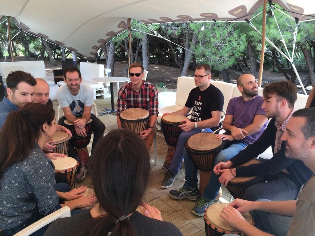 Workshop of batucada