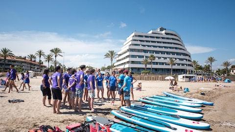 Beach olympics challenge