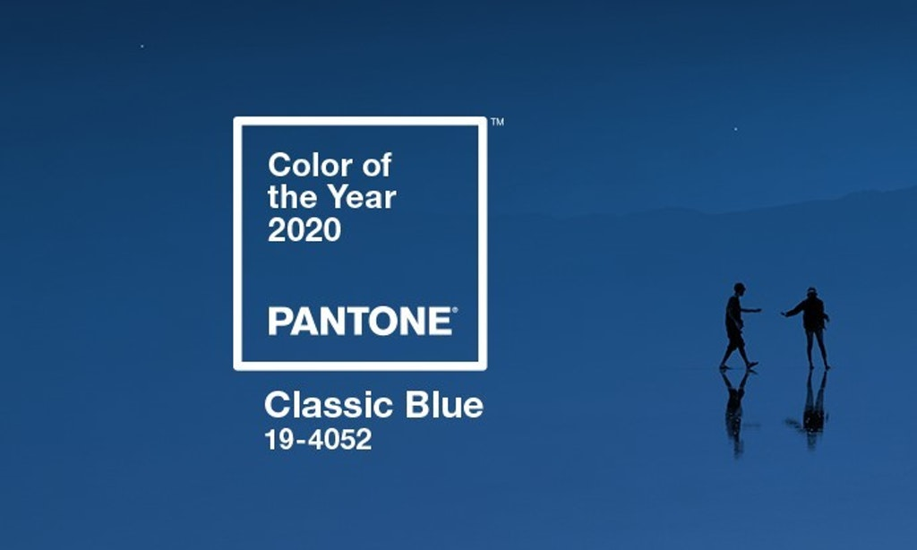 Color Pantone 2020: Classic Blue. Reason why.
