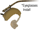 How to fit Ear Gear on glasses.