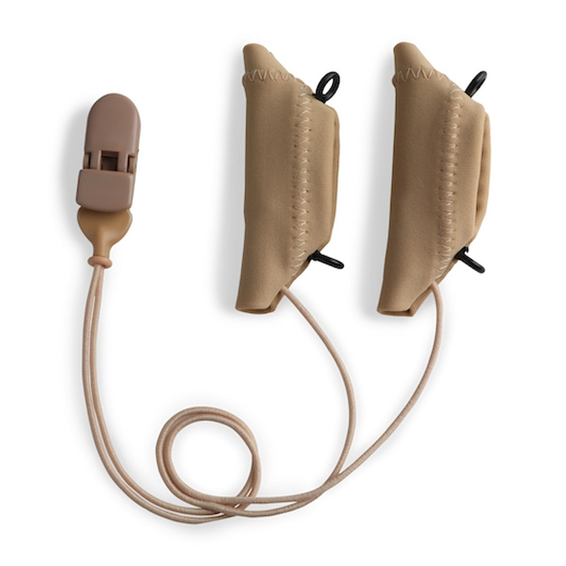 Ear Gear Cochlear Corded Eyeglasses Beige