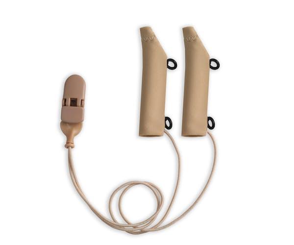 Ear Gear FM Corded Eyeglasses Beige