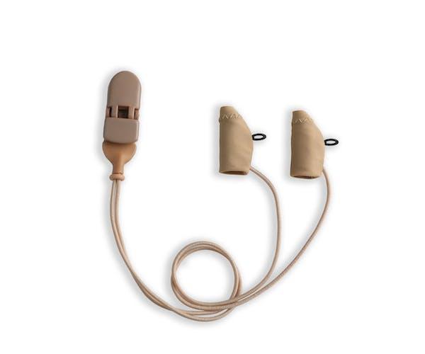 Ear Gear Micro Corded Eyeglasses Beige