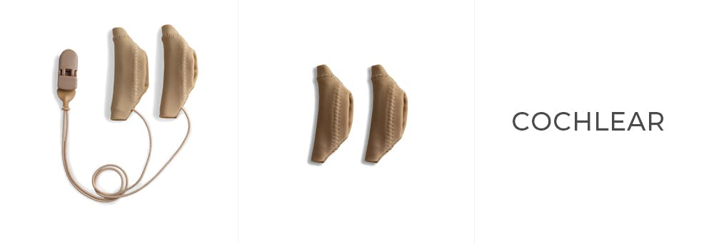Different Variations of the Ear Gear Cochlear