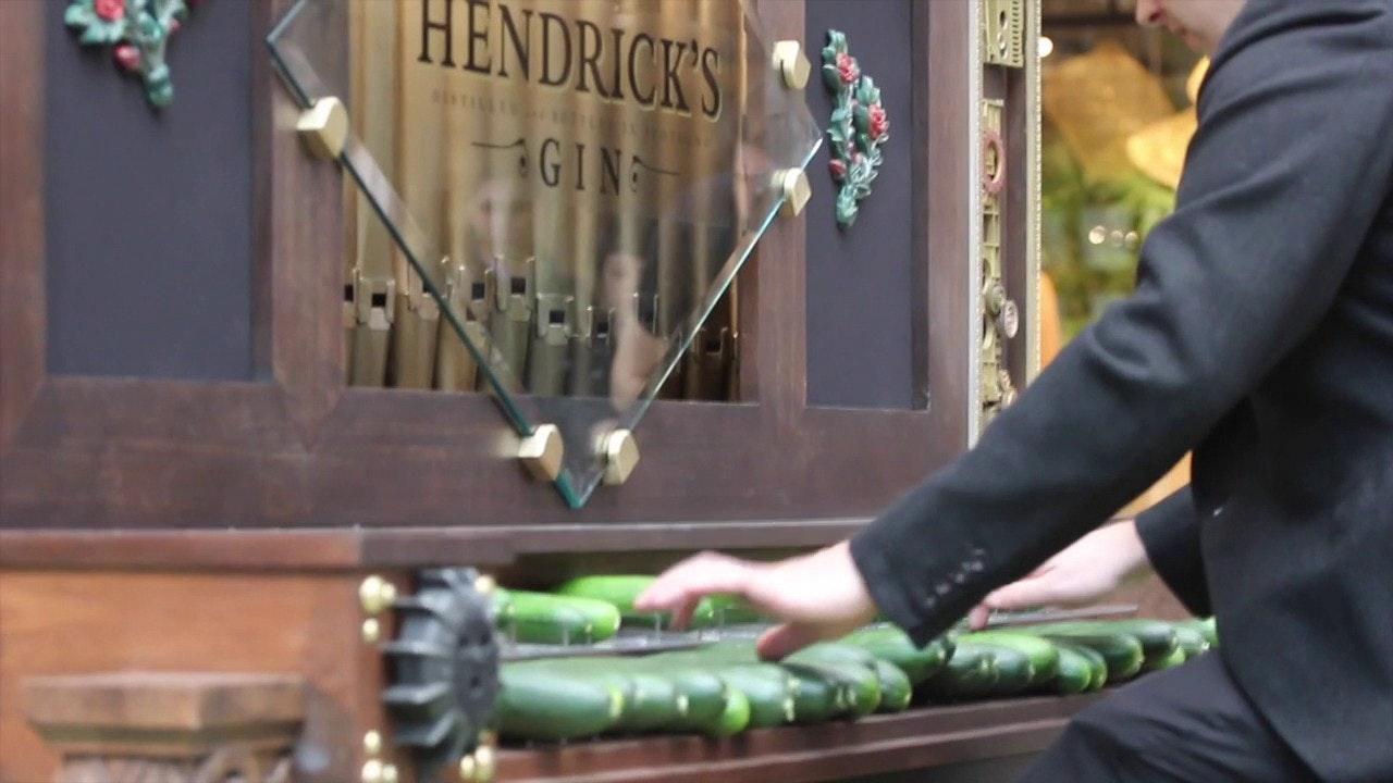 Hendrick's Gin CucumberOrgan