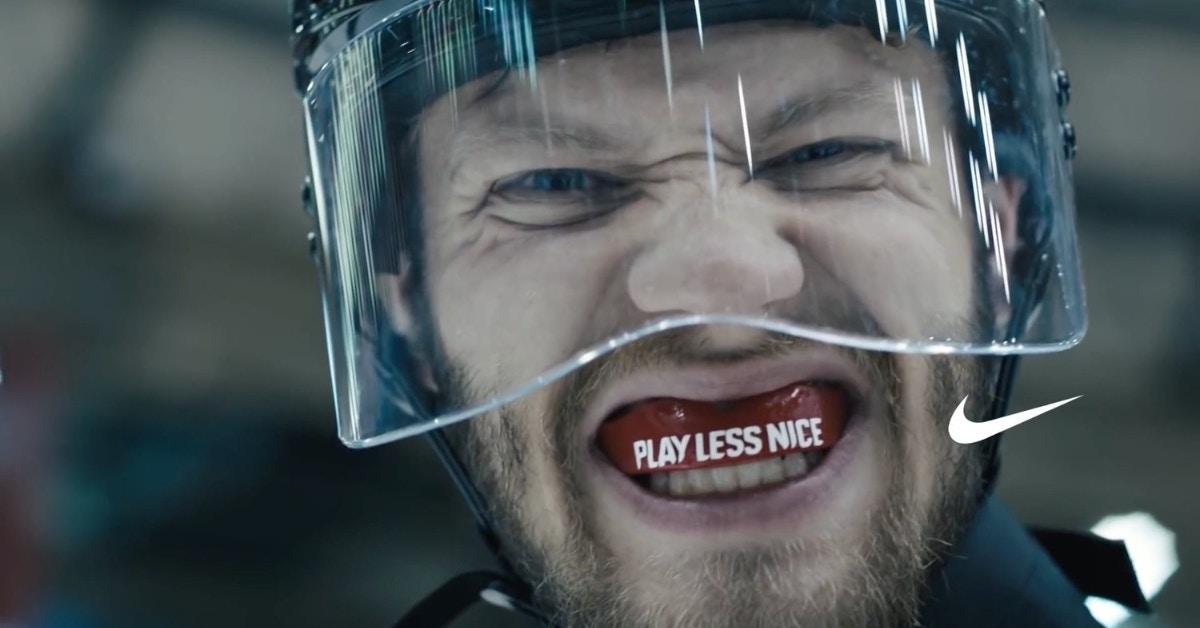Nike - Play Less Nice - video overlay