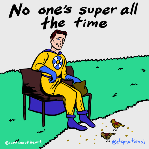 No one's super all the time
