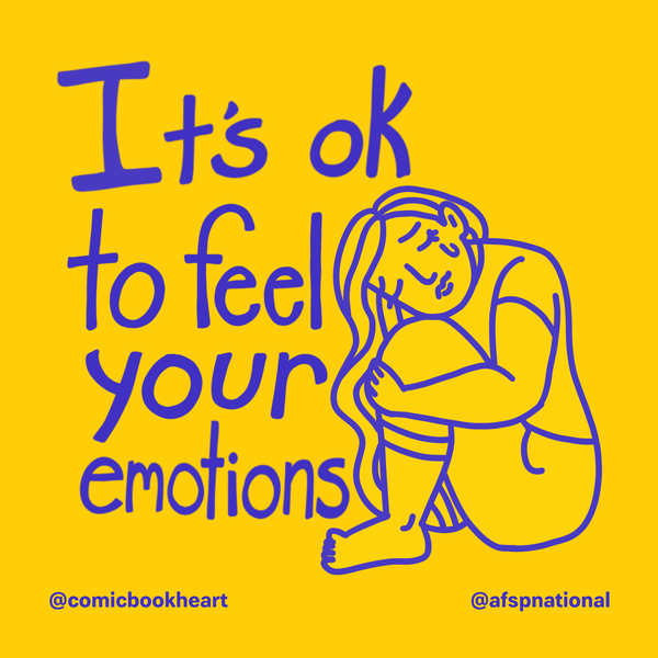 It's okay to feel your emotions