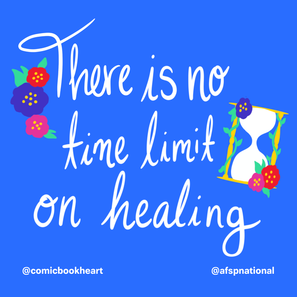There is no time limit on healing