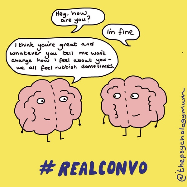 Two brains #realconvo