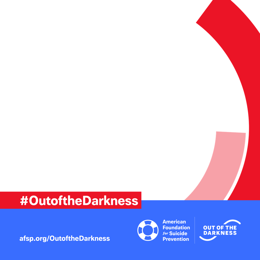 #OutoftheDarkness custom shareable