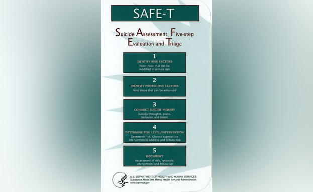 Suicide assessment five-step evaluation and triage