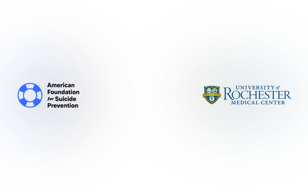 AFSP and University of Rochester logos