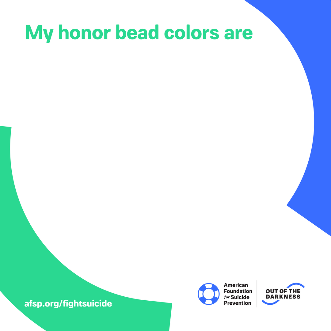 My honor bead colors are
