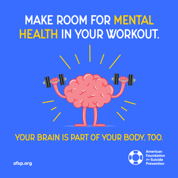 Make room for mental health in your workout