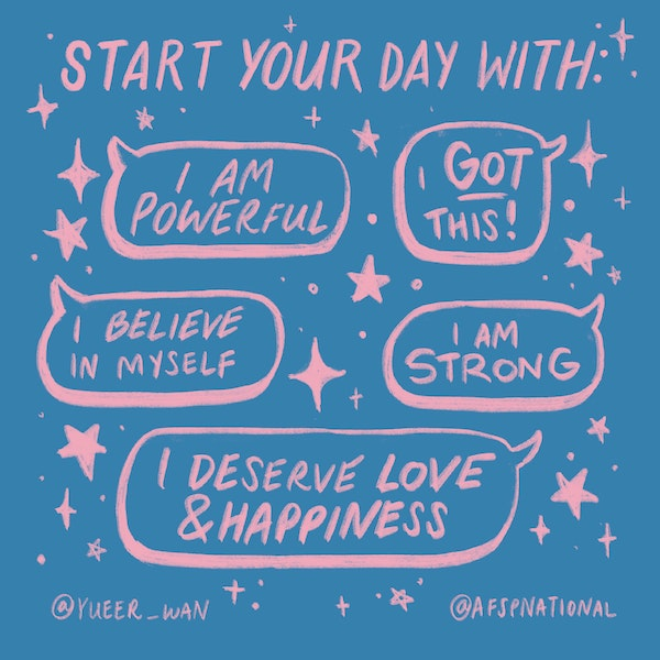 Start your day with positive messages