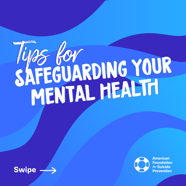 Tips for safeguarding your mental health