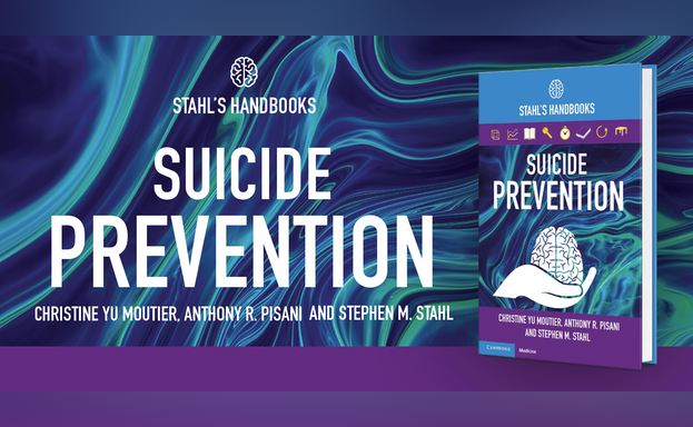 Stahl's Handbooks: Suicide Prevention cover