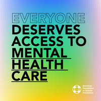 Everyone deserves access to mental health care