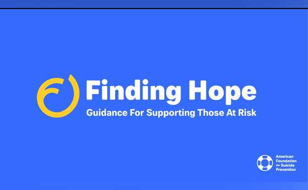 Finding Hope: Guidance or Supporting Those at Risk