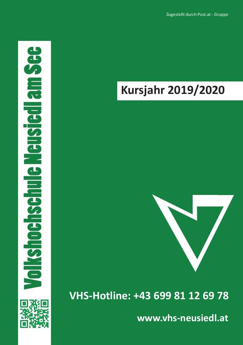 Kurs Programm - VHS Neusiedl