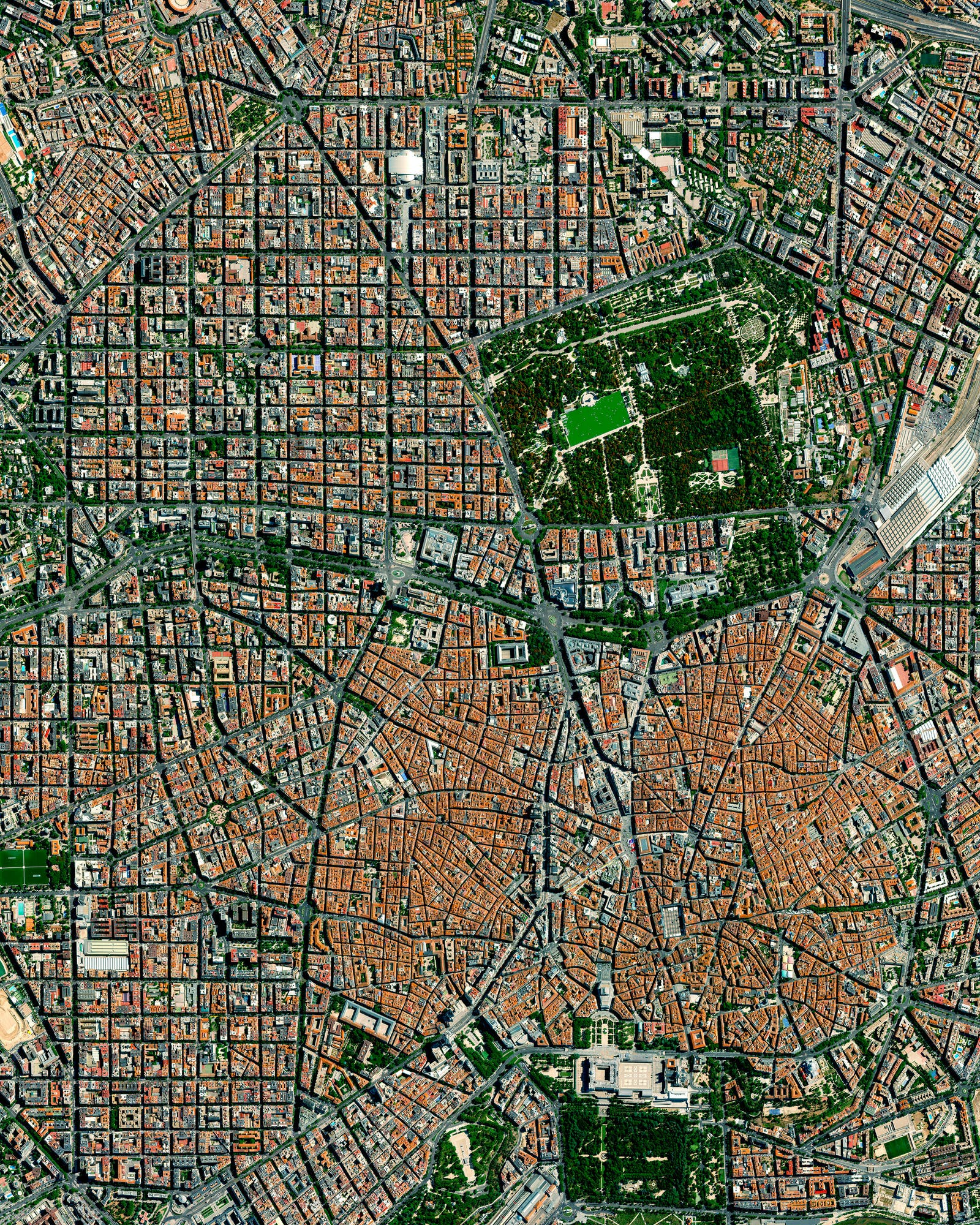 Mapping Green Spaces