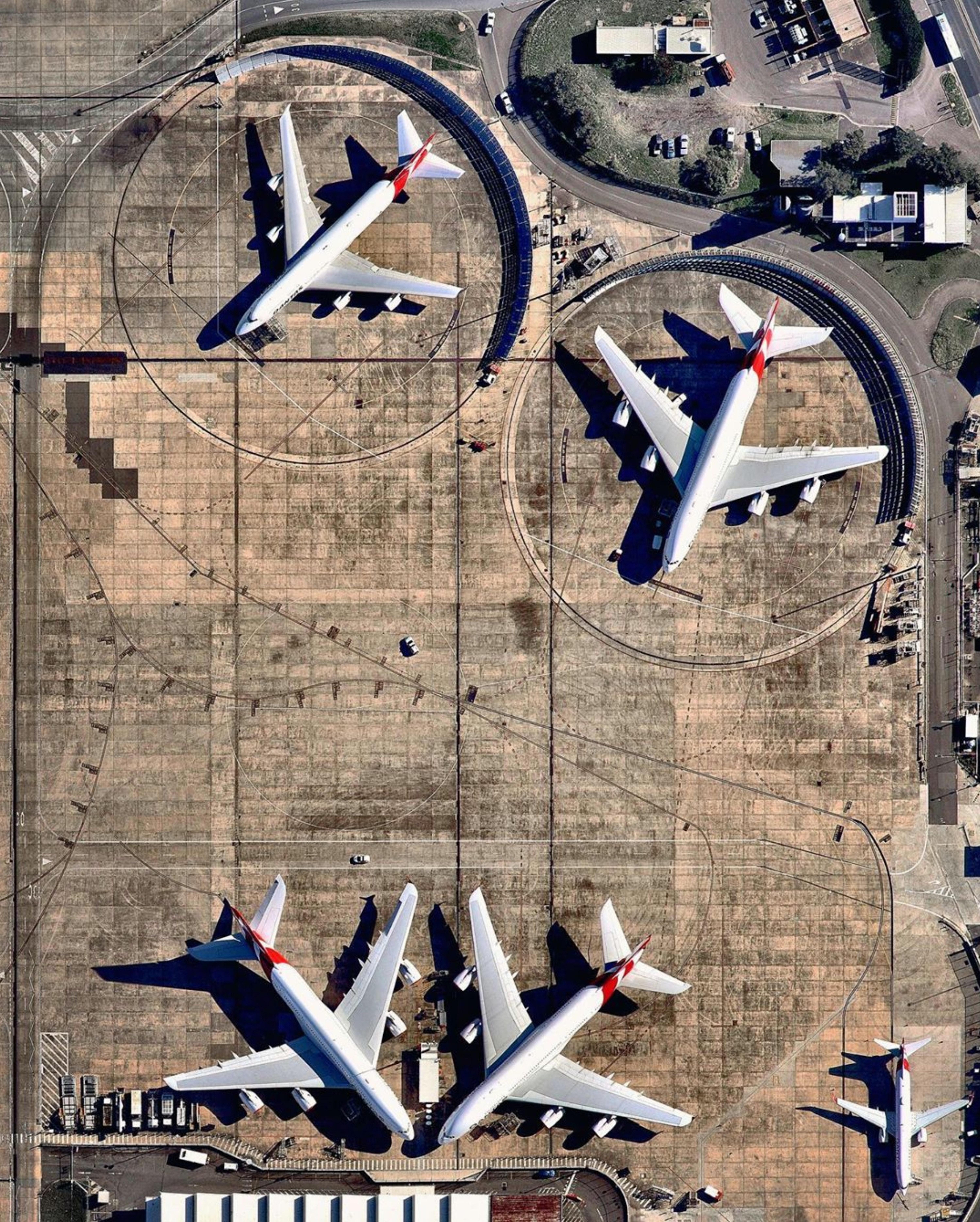 Sydney Airport Plane Maintenance
