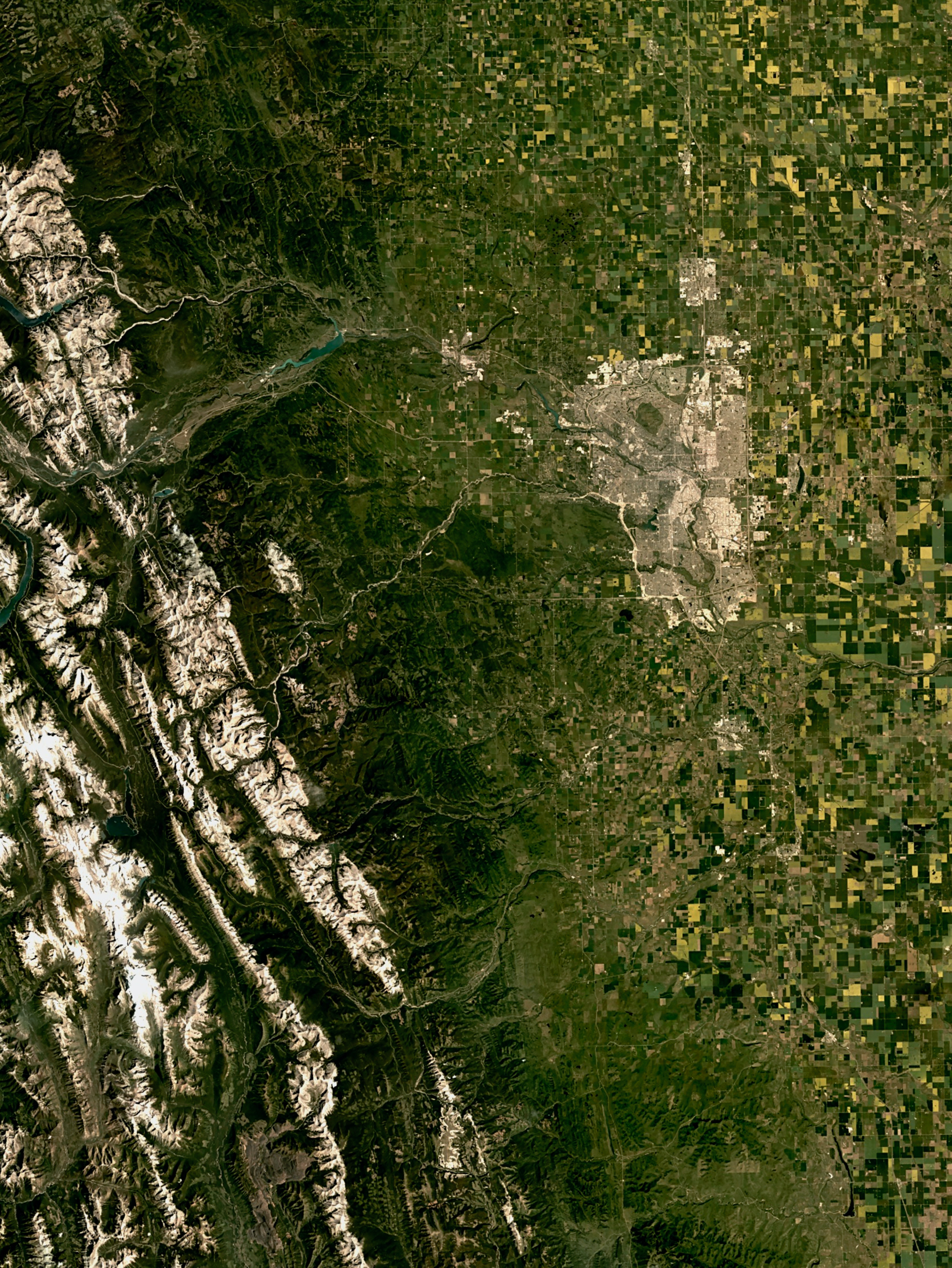 Calgary and the Canadian Rockies