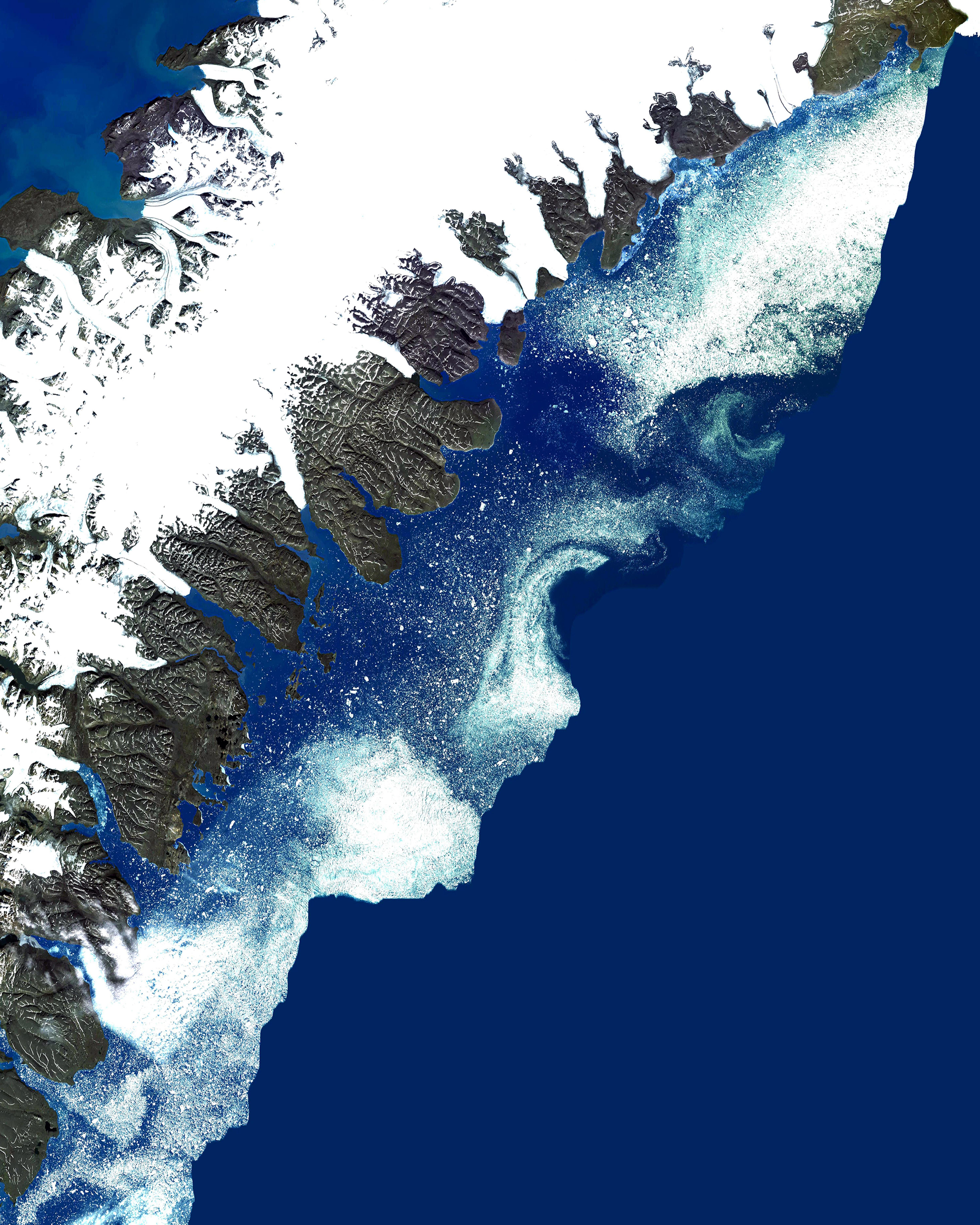 Severny Island Ice