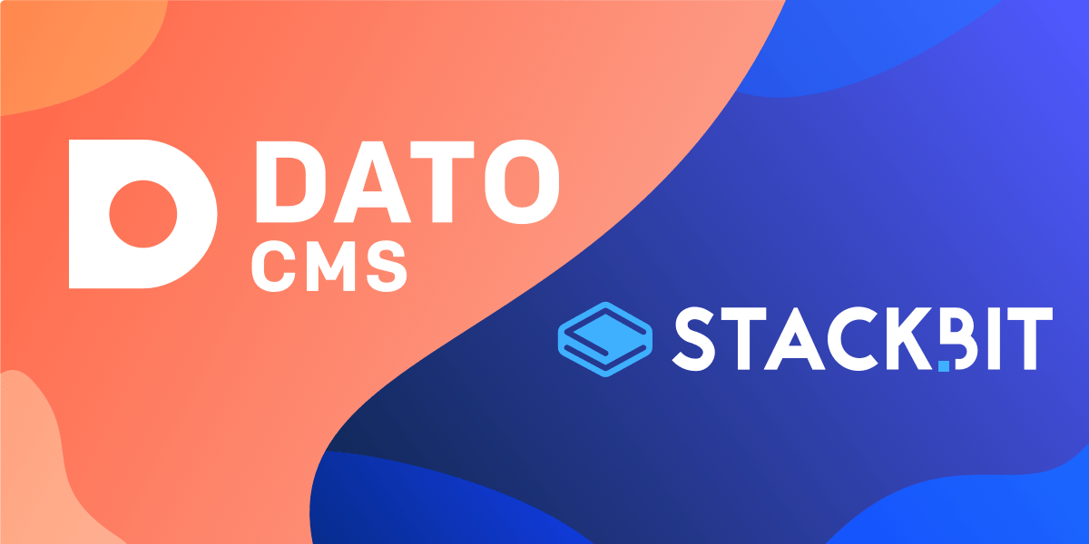Create modern sites in minutes, now supporting DatoCMS