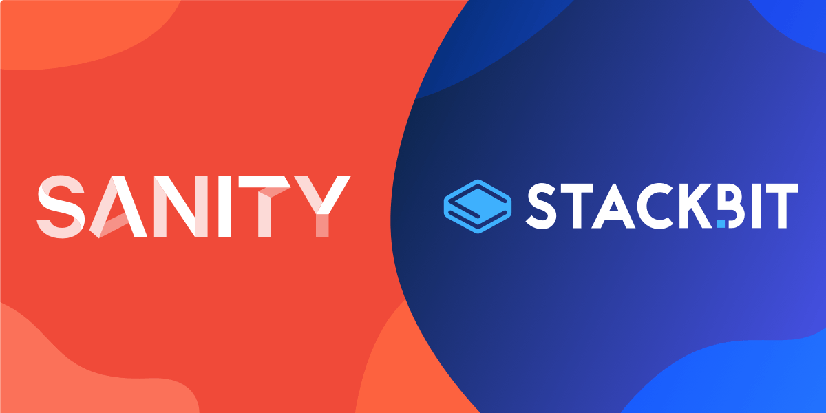 Sanity.io is now on Stackbit!