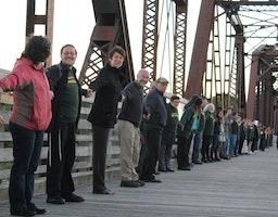 Un « Pont vers l'unité » à Fredericton